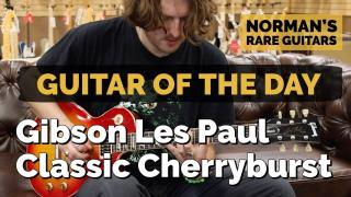 Guitar of the Day: Gibson Les Paul Classic Cherryburst | Norman's Rare Guitars