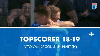 Topscorer 18-19 | Vito van Crooij & Lennart Thy