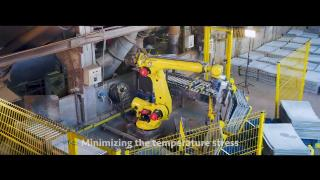 FANUC The Robot in Action in KCM /by SIMLOGIC/