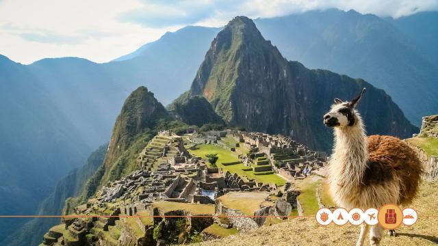 De weg naar Machu Picchu