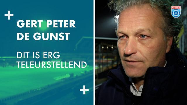 Gert Peter de Gunst: 'Dit is erg teleurstellend'