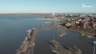 Boulevard Harderwijk en de Wijde Wellen en IJsbaan sluiten prachtig op elkaar aan