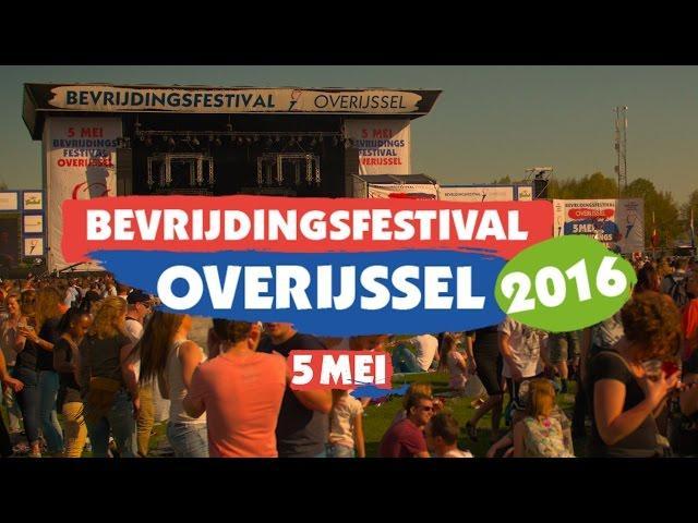 Bevrijdingsfestival Overijssel 2016