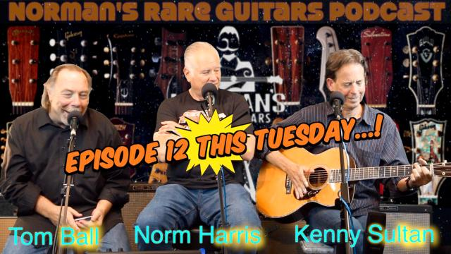 Norm's Podcast: Coming this Tuesday: Episode 12: Tom Ball & Kenny Sultan.