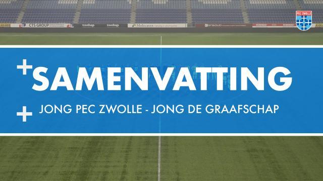 Samenvatting Jong PEC Zwolle - Jong De Graafschap