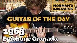 Norman's Rare Guitars | Guitar of the Day | 1963 Epiphone Granada