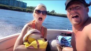 SPEEDBOOT VAREN MET VRiENDEN OP HETE ZOMERDAG  | Bellinga Vlog #1814