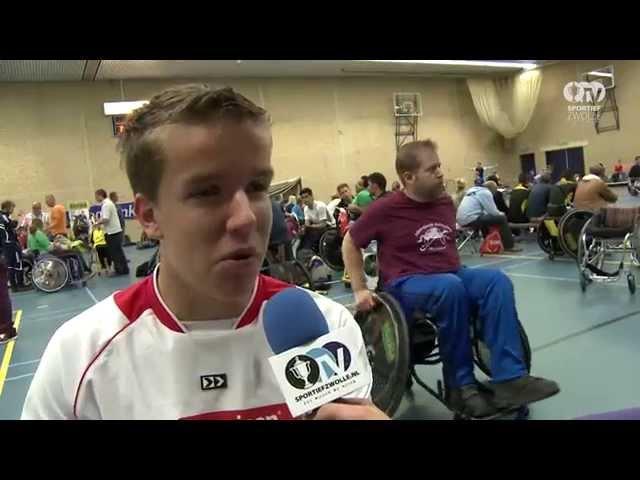 Sportief Zwolle: Rabobank Rolstoel hockey competiedag
