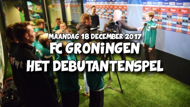 FC Groningen Debutantenspel 2017 | Onderbouw jeugd opleiding