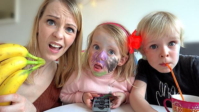 DE KiNDEREN VOOR DE GEK HOUDEN!  | Bellinga Familie Vloggers #1308