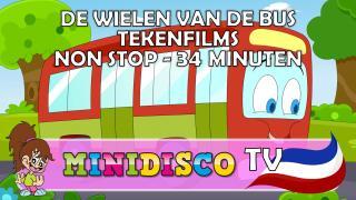 NON STOP De Wielen Van De Bus tekenfilms