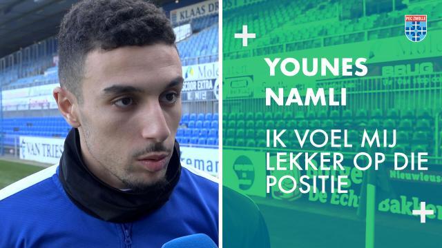 Younes Namli: 'Ik voel mij lekker op die positie.'