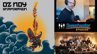Return of the Dragon: Oz Noy Brings Live Fire to Sweetwater Studios with Snapdragon