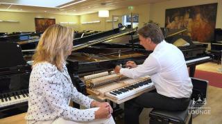 Ondernemerslounge (RTL7) | 1.5.09 | Laurien bij Bol Piano's & Vleugels