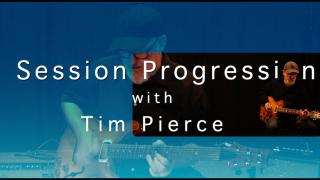 Session Progression with Tim Pierce:   Cm, Ab7, Bb7