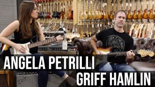 Angela Petrilli & Griff Hamlin | 1969 Fender Stratocaster at Norman's Rare Guitars