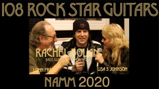 108 ROCK STAR GUITARS AT NAMM 2020: Skid Row's, Rachel Bolan