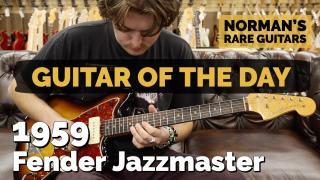 Guitar of the Day: 1959 Fender Jazzmaster Sunburst | Norman's Rare Guitars
