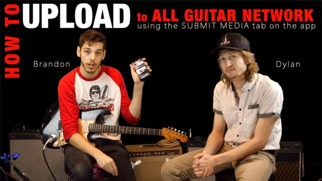 How to Upload to AGN: Brandon & Dylan show you how easy it is....