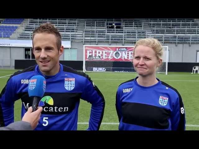 PEC Zwolle Mannen vs Vrouwen - Aflevering 2