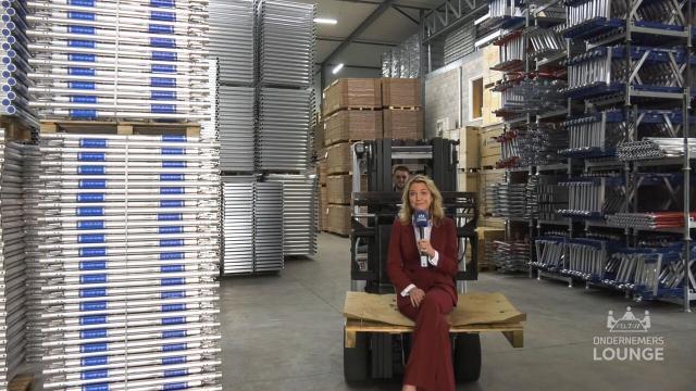 Ondernemerslounge (RTL7) | 2.2.05 | Laurien te gast bij Alumexx
