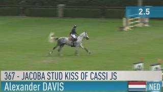 367. Jacoba Stud Kiss of Cassi JS (barrage)