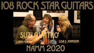 108 ROCK STAR GUITARS AT NAMM 2020: Suzi Quatro
