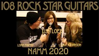 108 ROCK STAR GUITARS AT NAMM 2020: Lisa Loeb