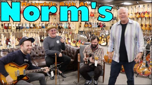Meanwhole Back At Norm's: Taylor Goldsmith, Lenny Goldsmith & Trevor Menear; 'Bright Lights'