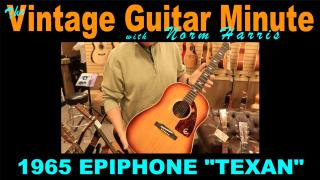 'Texan' Tuesday: 1965 Epiphone 'Texan'