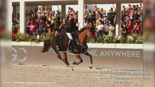 Von Eckermann Blasts To Victory In Longines Global Champions Tour of Rome Curtain Closer