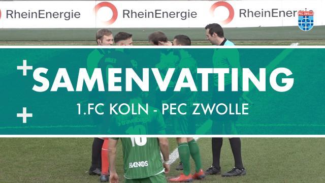 Samenvatting 1.FC Köln - PEC Zwolle