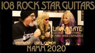 108 ROCK STAR GUITARS AT NAMM 2020: Laura Kaye