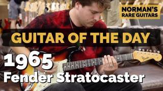 1965 Fender Stratocaster Sunburst