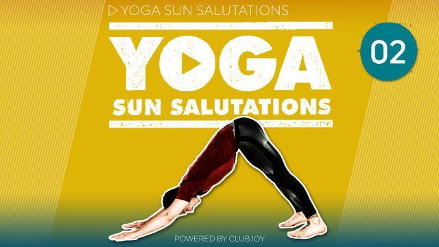 Yoga Sunsalutations 2