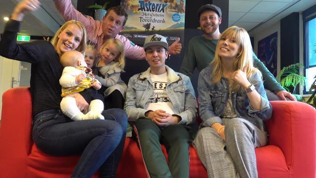 MET DYLAN HAEGENS DE STUDiO iN  | Bellinga FamilieVloggers #1184 #DeBellingaS #BellingaTV #FamilieVloggers.nl