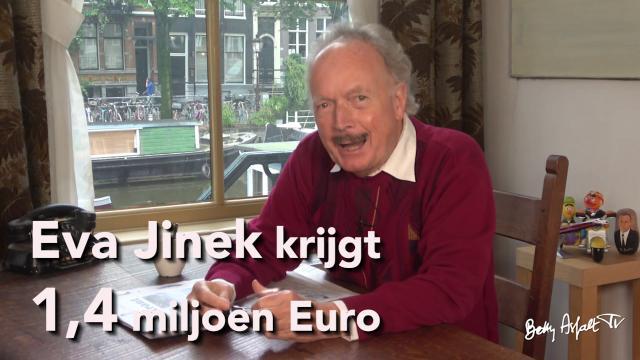 dominee Gremdaat: Eva Jinek krijgt 1,4 miljoen euro..
