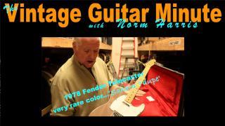 Vintage Guitar Minute: '78 Fender Telecaster in 'Sahara Taupe'
