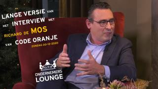Ondernemerslounge (RTL7) | Richard de Mos van Code Oranje | LANG