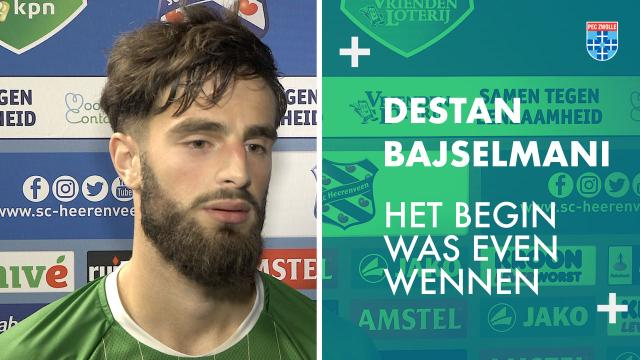 Destan Bajselmani: 'Het begin was even wennen.'