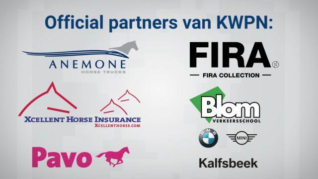 Dit zijn de official partners van KWPN!
