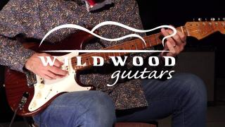 Wildwood Guitars • Fender Custom Shop Wildwood 10 1955 Roasted Stratocaster • SN R100516