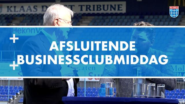 Afsluitende Businessclubmiddag PEC Zwolle