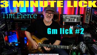 3 Minute Lick with Tim Pierce: Gm lick #2