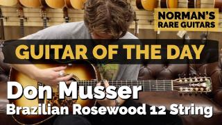 Don Musser Brazilian Rosewood 12 String