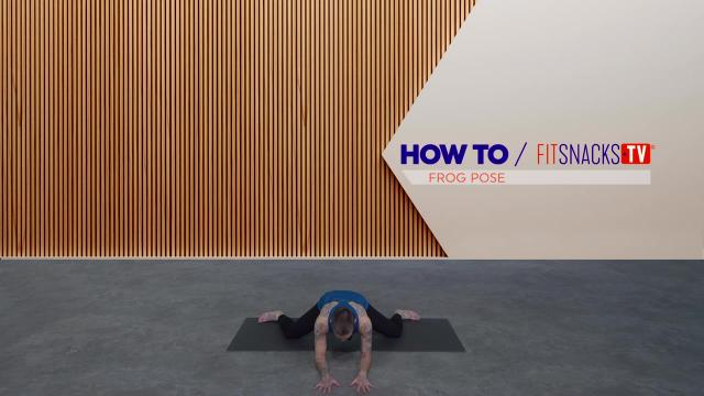 How To Frog Pose