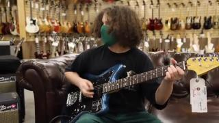 13-year-old Elie Samouhi & Michael Lemmo Fender American Professional 2 Jazzmaster