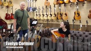 "Evelyn Cormier:  ""Landslide"" , with a 1961 Gibson Hummingbird at Norman's Rare Guitars"