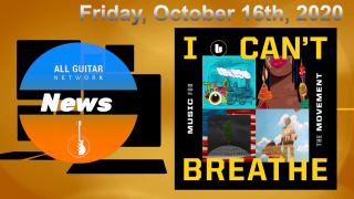 "Oct 16th, 2020: The Undefeated Music Companion Piece ""I Can't Breathe:Music for the Movement"" Set For Release Today"