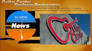 Update: Monday Nov 23, 2020: Guitar Center declares bankruptcy